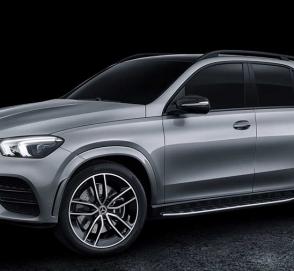 Mercedes показал самую мощную версию кроссовера GLE