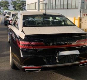 Флагманский седан G90 первым примерил новый дизайн Genesis