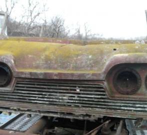 Найден фрагмент уникального украинского микроавтобуса «Старт»