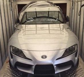 Дизайн Toyota Supra рассекретили до премьеры