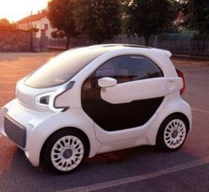 Китайцы построили пластиковый автомобиль, который будут продавать в Европе
