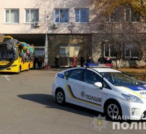 На дорогах Украины появился полицейский автобус-призрак