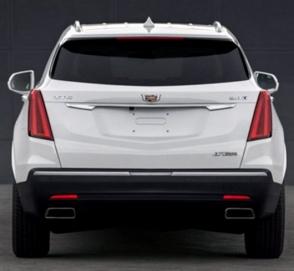 Опубликованы первые фото обновленного внедорожника Cadillac XT5