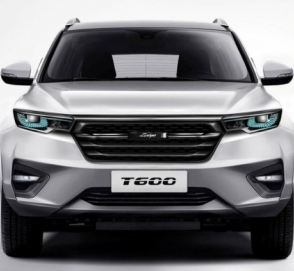 Компания Zotye рассекретила кроссовер T600 нового поколения