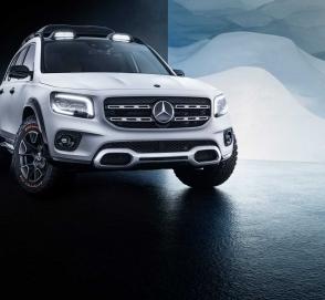 Mercedes-Benz GLB может получить внедорожный пакет