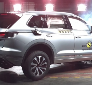 Euro NCAP провел краш-тесты Volkswagen Touareg, Audi A6 и Suzuki Jimny