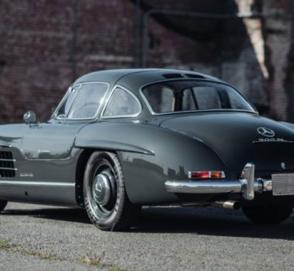 63-летний Mercedes-Benz 300SL Gullwing уйдет «с молотка» за 1 млн долларов