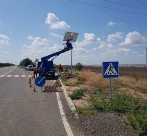 На украинских дорогах внедряют инновационные технологии