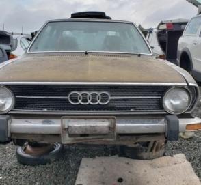 Редкий седан Audi раскопали на одной из автосвалок