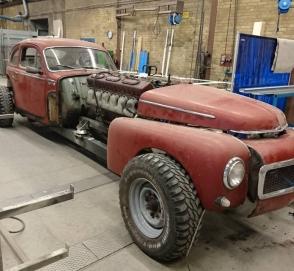 Volvo 1960 года оснастили 39-литровым двигателем