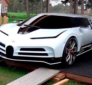 Бесшумный гиперкар Bugatti Centodieci за 9 миллионов долларов показался публике