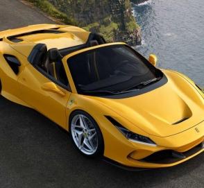 Стартовали продажи нового Ferrari F8 Spider