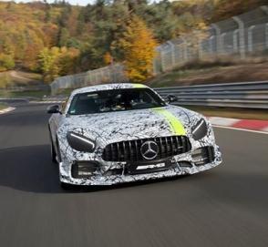 Mercedes-AMG GT R Pro дебютирует в Лос-Анджелесе