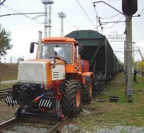 Трактор Слобожанец может заменить маневровый тепловоз