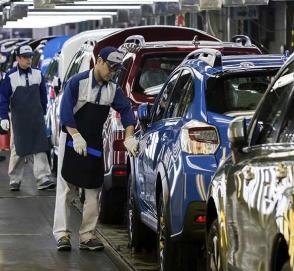 Компания Subaru вынуждена остановить производство автомобилей