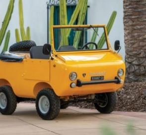 Найден самый первый внедорожник марки Fiat
