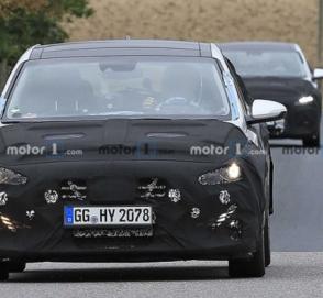 Новый Hyundai i30 выехал на тесты