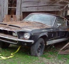 В заброшенном сарае нашли уникальное купе Shelby за сто тысяч долларов
