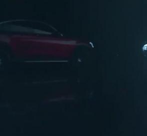 Обновленный Mercedes GLC Coupe показали на видео