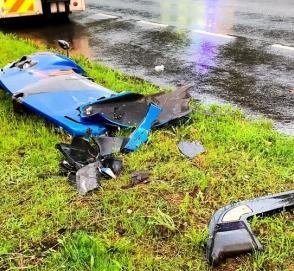Два баснословно дорогих гиперкара уничтожены в ДТП