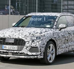 Спортверсию Audi Q3 нового поколения показали на видео