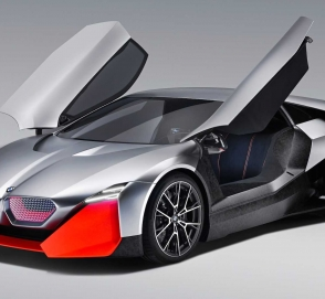 BMW показал гибридное будущее M-моделей на футуристичном концепте