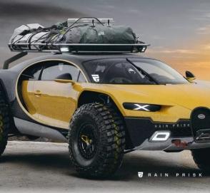 Как может выглядеть «апокалиптический» Bugatti Chiron