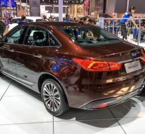 В Китае дебютировал новый Ford Escort
