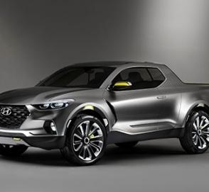 Пикап Hyundai выпустят в более брутальном дизайне