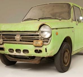 Honda отыскала и восстановила самый первый свой автомобиль в США