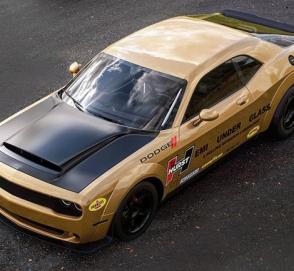 Представлен «стеклянный» рендер на Dodge Challenger Demon Hemi