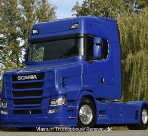 У нового поколения Scania появилась «носатая» версия
