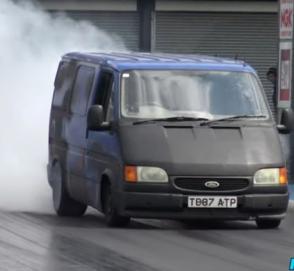 Ford Transit V8 – четверть мили за 12 секунд