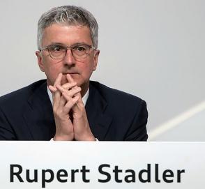 Арестованный глава Audi уволен со своей должности