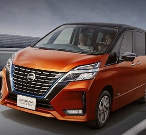 Компания Nissan обновила минивэн Serena