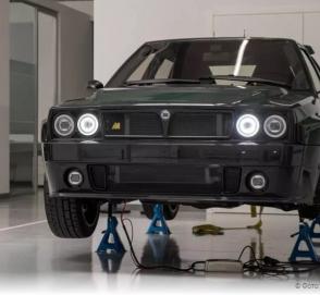 Как звучит «возрожденная» Lancia Delta Integrale