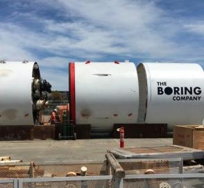 Илон Маск приступил к сооружению тоннеля под Лас-Вегасом