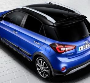 Hyundai готовится к продажам обновленного кросс-хэтча i20 Active