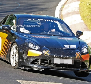 Alpine приступил к испытаниям экстремальной версии купе A110