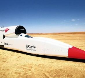 Самый мощный сверхзвуковой автомобиль разогнался свыше 1000 км в час