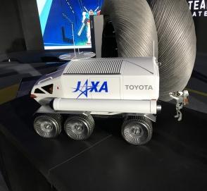 Автомобили Toyota отправятся на Луну