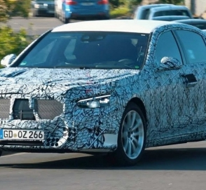 Серийный Mercedes-Benz S-Class замечен на Нюрбургринге
