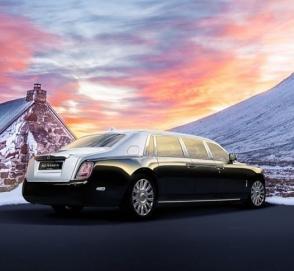 Rolls-Royce Phantom превратился в бронированный лимузин
