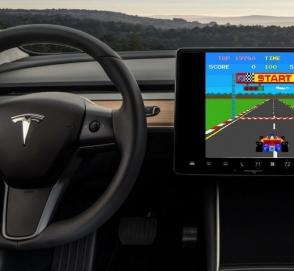 В автомобилях Tesla появится новое развлечение