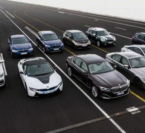 BMW планирует представить 25 гибридных моделей к 2025 году
