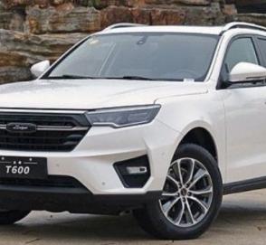 В Китае начались продажи нового поколения Zotye T600
