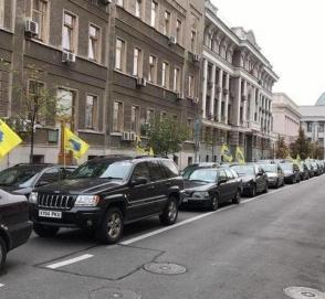 Украинские полицейские начали «перепись» нерастаможенных автомобилей