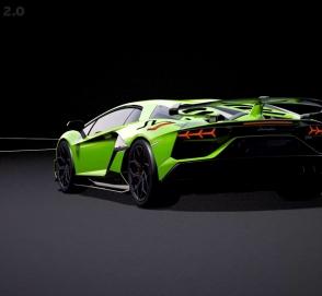 Lamborghini показала на видео новую аэродинамическую систему Aventador SVJ