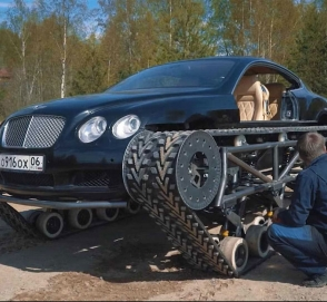 Из Bentley Continental GT сделали танк