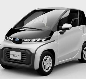 Toyota презентовала очень маленький электромобиль